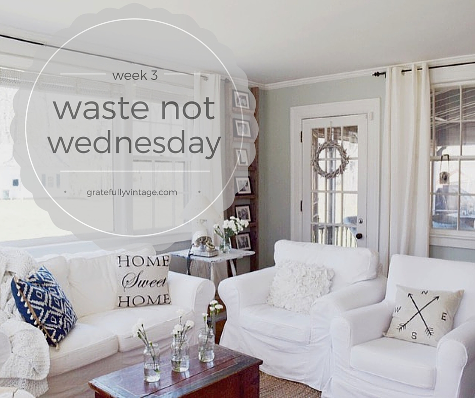 Waste Not Wednesday #3