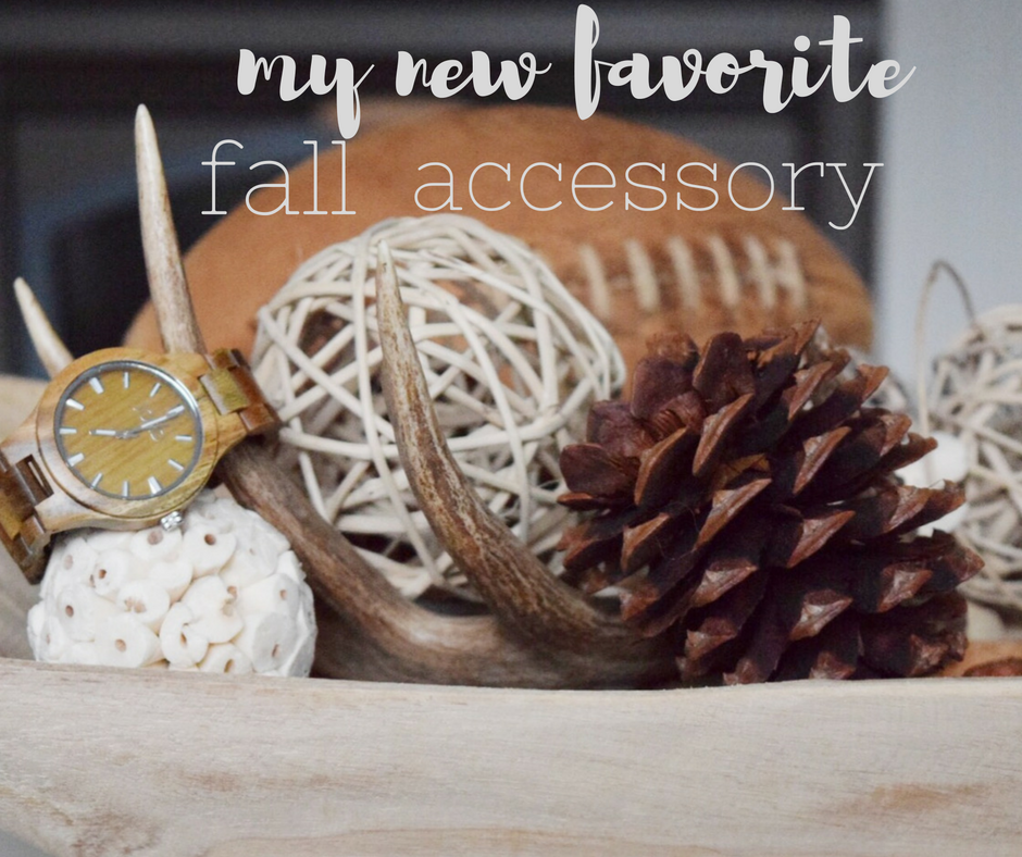 My New Favorite Fall Accessory – a Cool Watch!